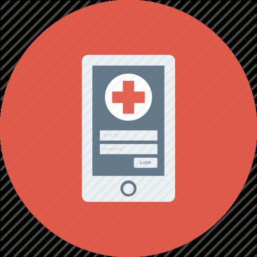 Health App, Healthcare App, Medical App, Mobile, Mobile App Icon Icon