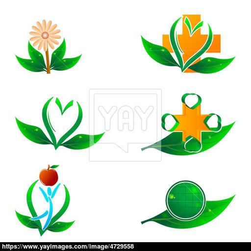 Natural Health Icons Image