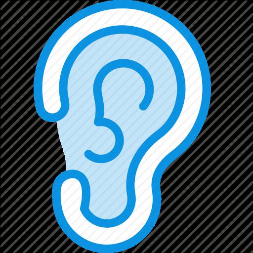 Anatomy, Ear, Hear Icon