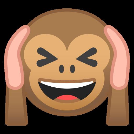 Hear No Evil Monkey Icon Noto Emoji Smileys Iconset Google