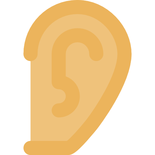 Ear, Impaired, Medical, Deaf, Hearing Icon