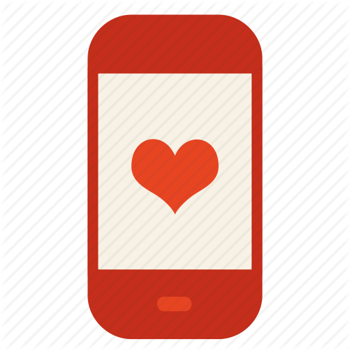 App, Chat, Heart, Love, Message, Mobile Icon