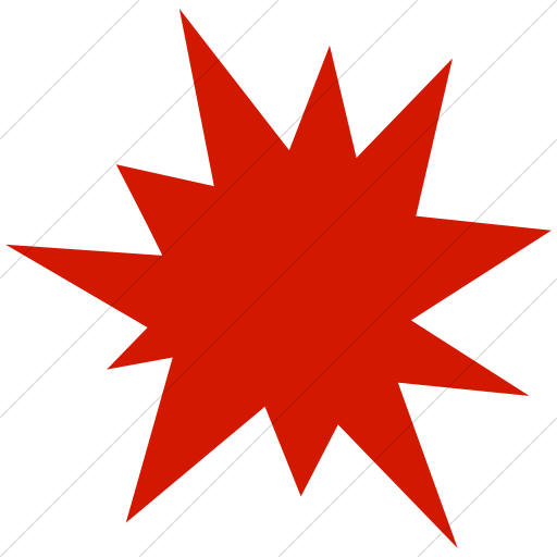 Simple Red Ocha Humanitarians Security Attack Icon