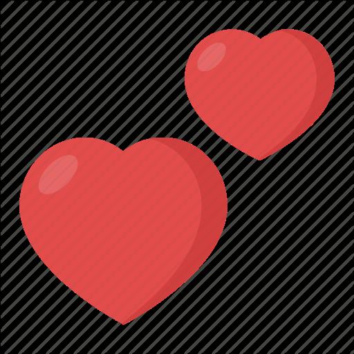 Couple, Double Heart, Hearts, Two Hearts, Two Hearts Emoji Icon