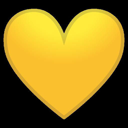 Yellow Heart Emoji