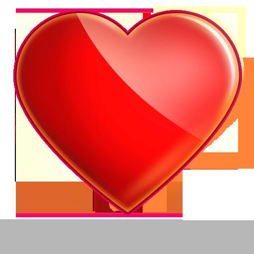 Glassy Heart Icon