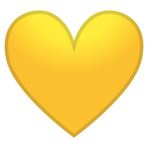 Yellow Heart Emoji