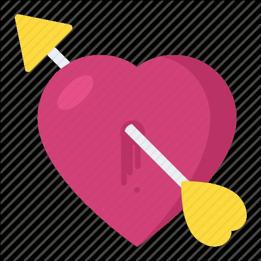 Broken Heart, Cupid Heart Symbol, Heart With Arrow, Love Sickness