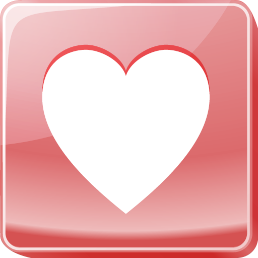 Collection Of Heart Shaped Icons Free Download