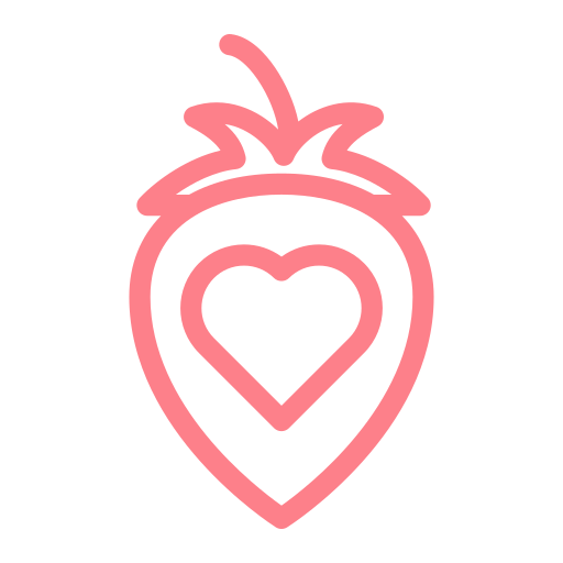 Strawberry, Love, Heart Icon Free Of Love And Valentines Day Icons