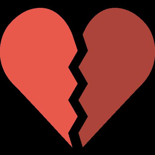 Broken Heart Broken Heart Png Icon