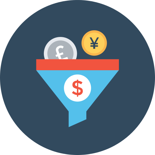 Exchange Funnel Png Icon