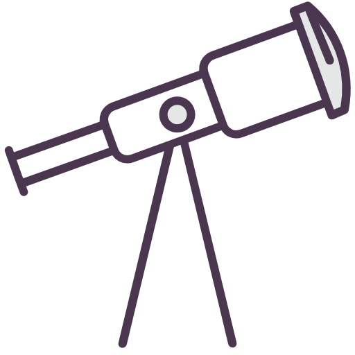 Telescope, Galaxy, Heaven, Observatory Icon Free Of Line Mix