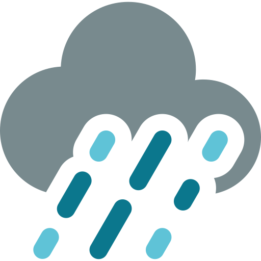 Heavy Rain, Rain, Snow Icon With Png And Vector Format For Free