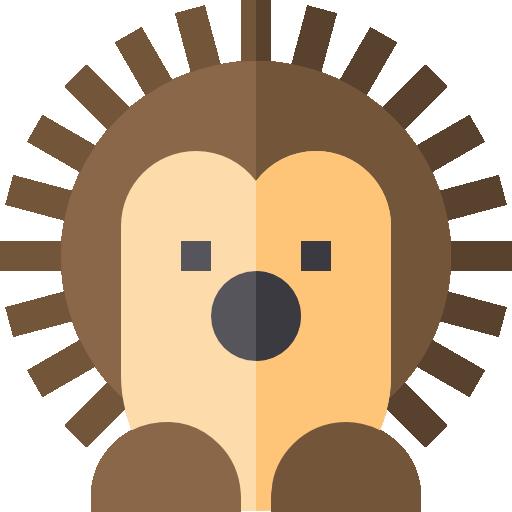Hedgehog Icon Zoo Freepik