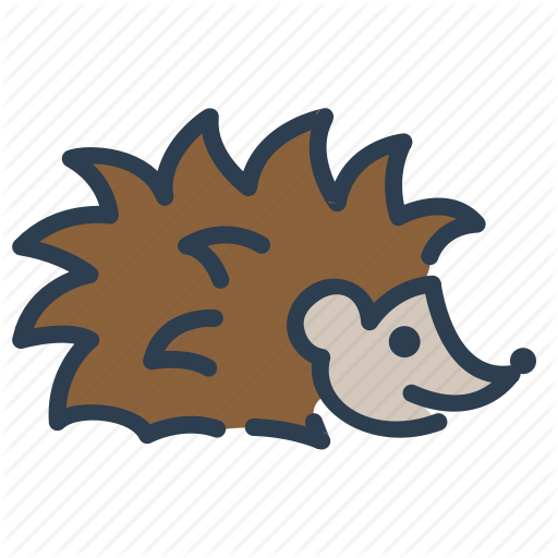 Animal, Autumn, Hedgehog, Spikes Icon