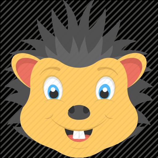Baby Hedgehog, Hedgehog Face, Smiling Hedgehog, Wild Animal
