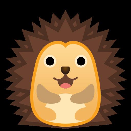 Hedgehog Icon Free Of Noto Emoji Animals Nature Icons