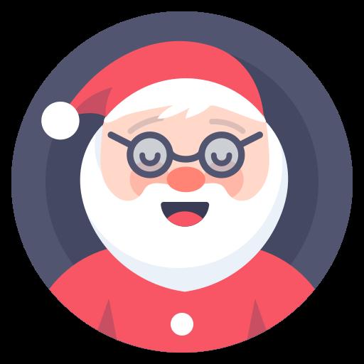 Christmas, Clous, Santa Icon Free Of Xmas Giveaway
