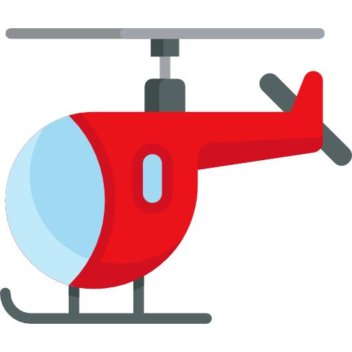 Helicopter Icon Travel And Places Emoticons Freepik