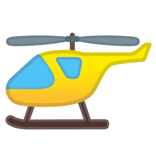 Helicopter Icon Free Of Noto Emoji Travel Places Icons