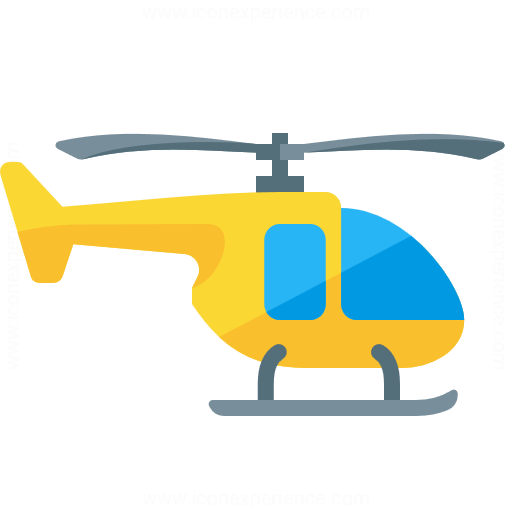Iconexperience G Collection Helicopter Icon
