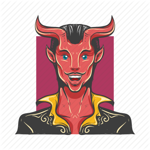 Avatar, Avatars, Devil, Evil, Hell, Hell Man, Man Icon