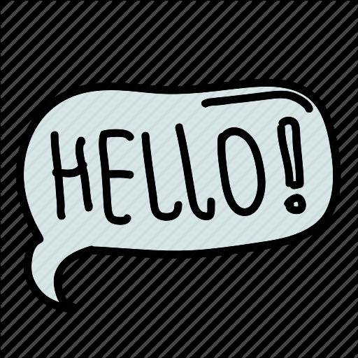 Bubbel, Connect, Hello, Multimedia, Receive, Send, Share Icon