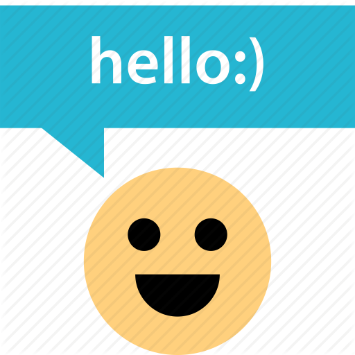 Everyone, Hello, Smile Icon