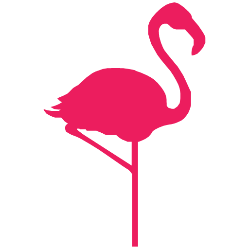 Hello Flamingo Icon Hello Flamingo