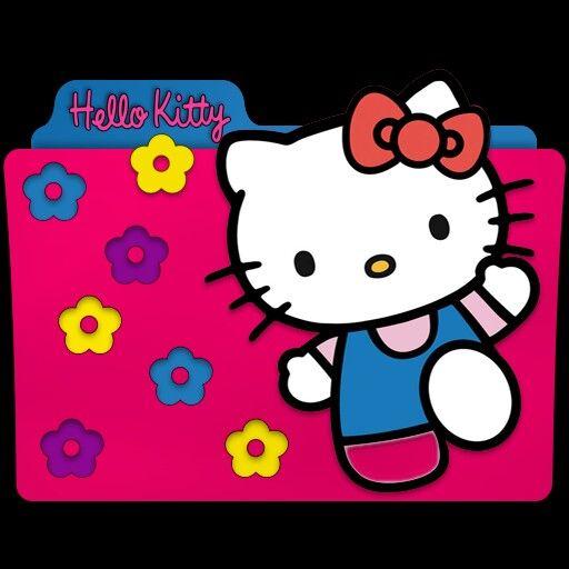 Cara Icon Folder Hello Kitty Download