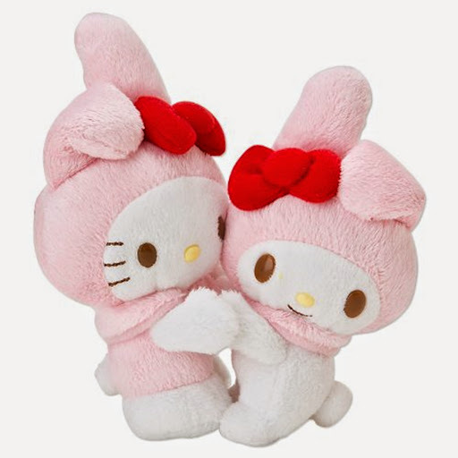 Hello Kitty My Melody Plush Doll And Similar Items