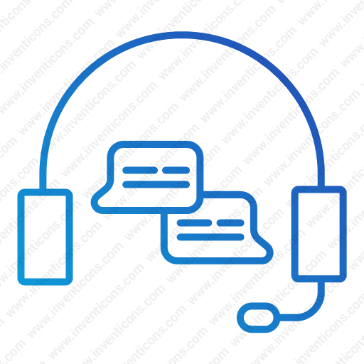 Download Support,help,headset,call,listne Icon Inventicons