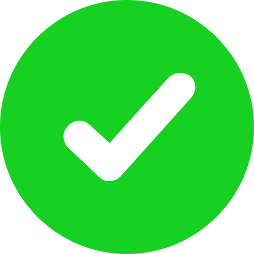 Ok Green Icon Icon Png And Vector For Free Download
