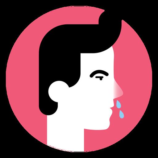 Runny Nose Sickness Symptom Icon
