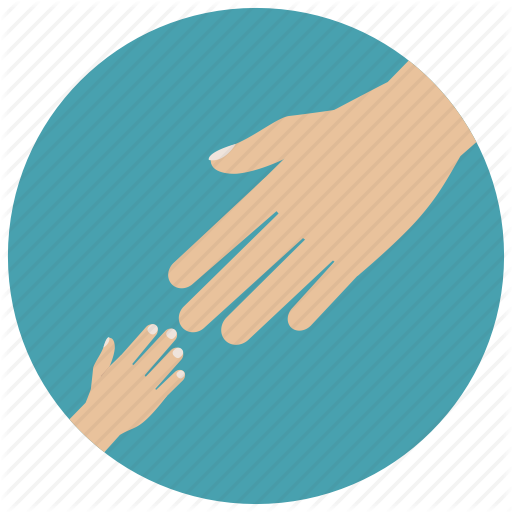 Helping Hand Free Icon