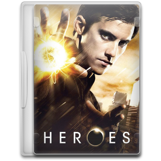 Heroes Icon Tv Show Mega Pack Iconset