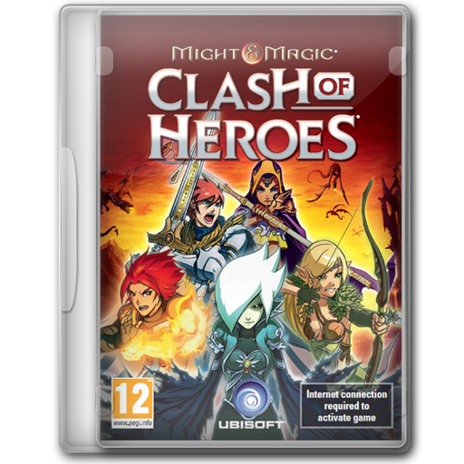 Might Magic Clash Of Heroes Icon Game Cover Iconset Jeno Cyber