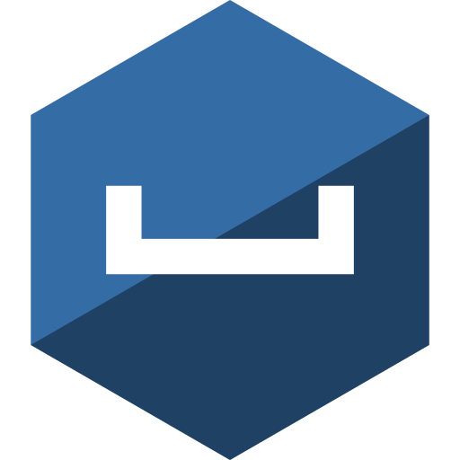 Hangouts, Social, Media, Gloss, Hexagon Icon