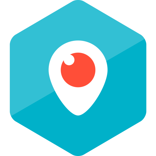 Social Media Hexagon Icon