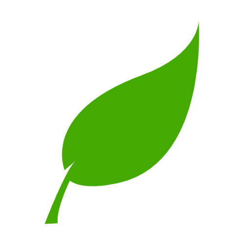 Green Leaf Icon Hi Linda Theron