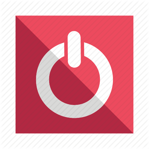 Hibernate, Power, Restart, Switch Icon