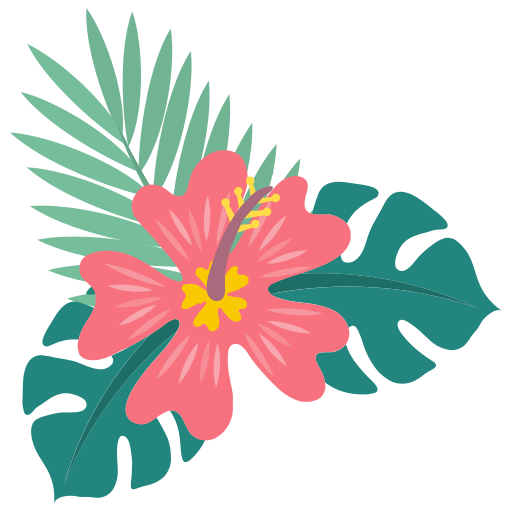 Hibiscus, Flower Icon Free Of Summer Icons