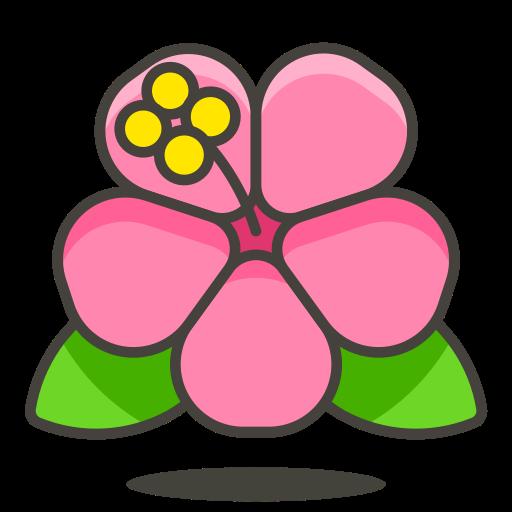 Hibiscus Icon Free Of Free Vector Emoji