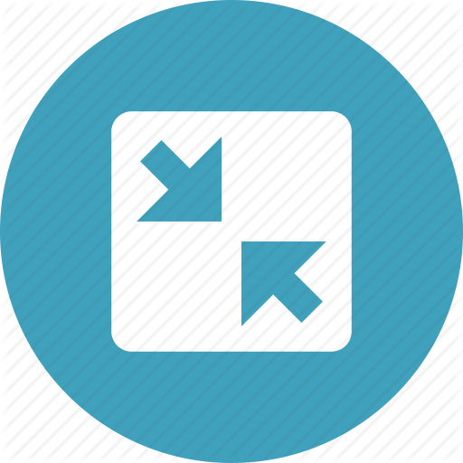 Arrows, Minimize, Resize, Screen, Shrink Icon