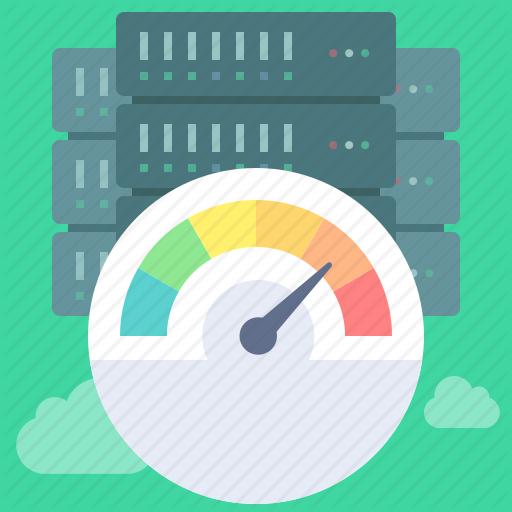 Dashboard, Gauge, High, Performance, Servers, Speed, Test Icon