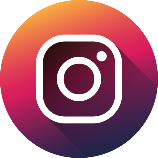 Circle, High Quality, Instagram, Long Shadow, Media, Social