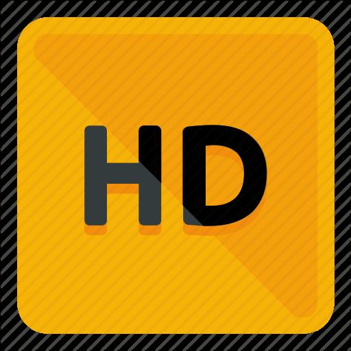 Hd, High Definition Icon