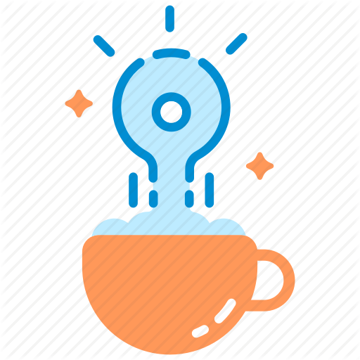 Cappuccino, Coffee, Creative, Cup, Drink, Idea, Inspiration Icon