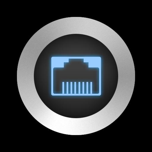 High Tech Rave Up Black Icon